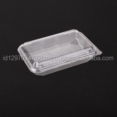Disposable plastic food sushi packaging