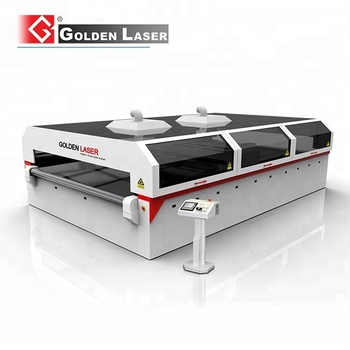 600W CO2 Laser Polyester Filter Fleece Cutting Machine