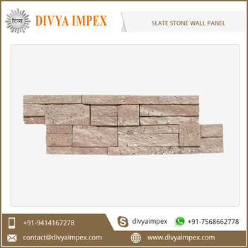 Cheap Slate Decorative Artificial Stone Wall Panel for Exterior or Interior