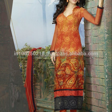 Latest Bollywood Embroidery Design Long Salwar Suit R5919
