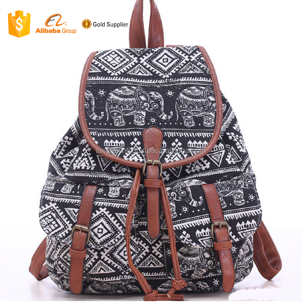 2018 Foldable supply backpack traveling polyester colorful school bags for teenagers