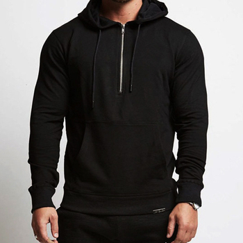 2019 Men's Tide Casual Suit Sports Youth Trend Cotton Hoodies Pullover Hoodie Wholesale
