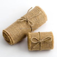 Jute Tape/Burlap Roll/ Jute Bag/ Jute Table Runner/Christmas Bag/Jute Tube