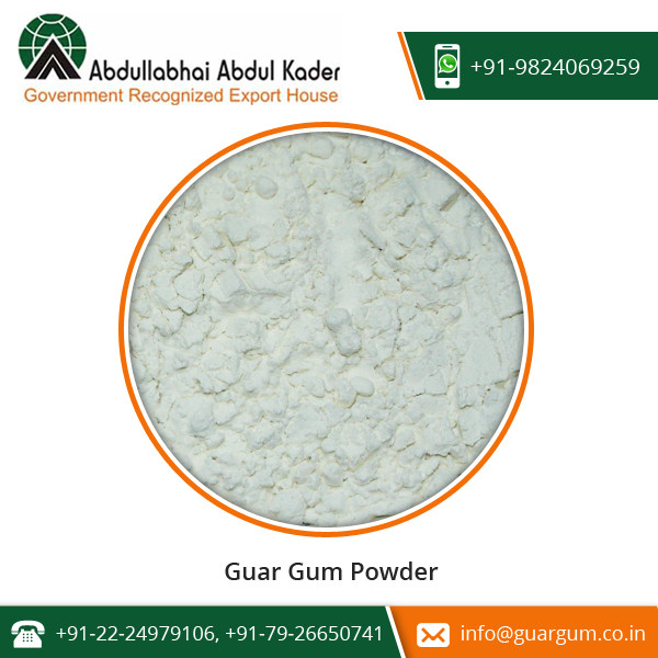Export Quality Guar Gum Powder for Increasing Shelf Life of Food Products