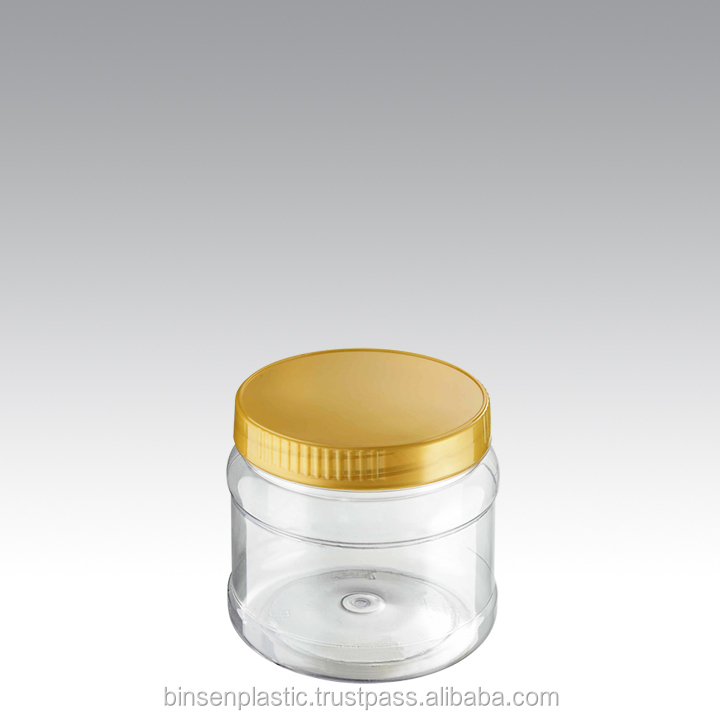 BP 0951 plastic bottle food container wide mouth jar malaysia made cookies organic confectionery