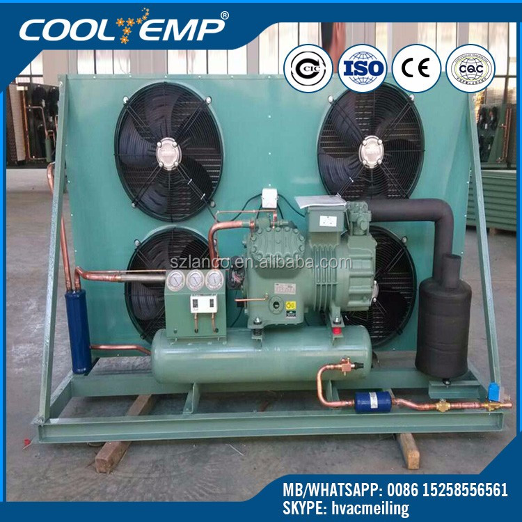 R404a Low Noise Bitzer Cold Room Condensing Unit For Cold Room Storage