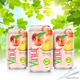 Vietnam Origin-VINUT Beverage Manufacturer- Pure Peach Juice - OEM