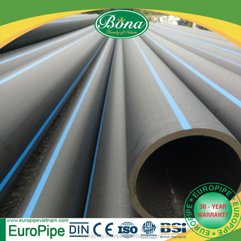 [EUROPIPE] PE 80 and PE 100 HDPE pipe and fittings 1200mm from Vietnam No.1 producer