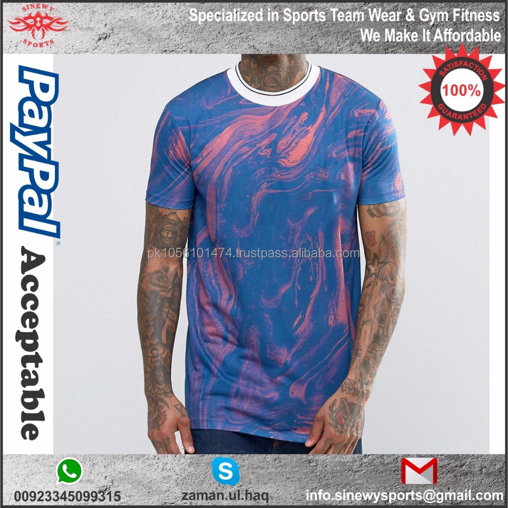 Hot 100 Polyester Sublimation Sport T Shirt