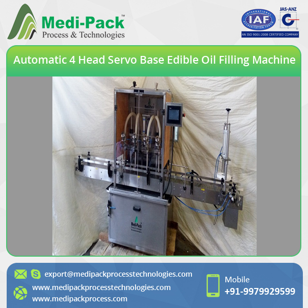Plastic/Glass Bottle Cooking Oil Filling Machine