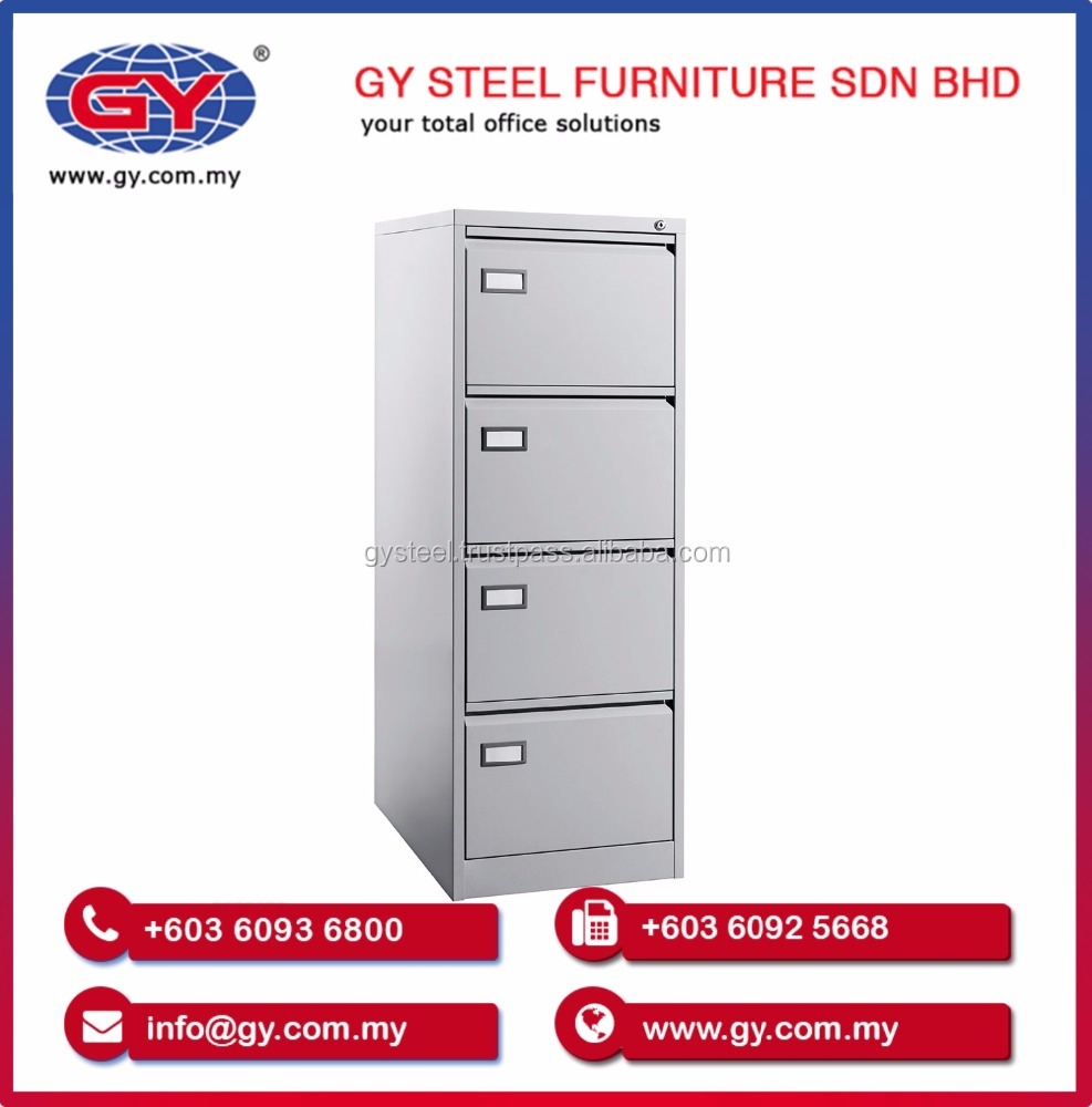 OEM Design New High Quality Filing Steel Cabinet for Office / School - GY121-GN