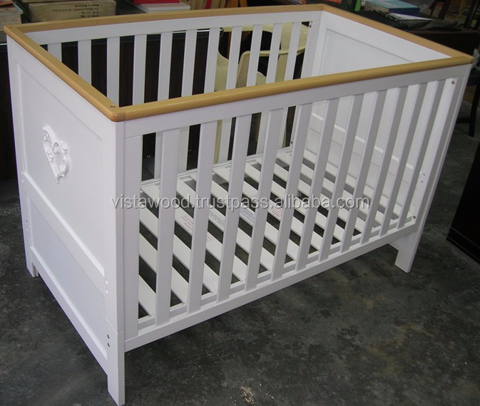 convertible cot bed , 4 in 1 baby cot bed ,malaysia baby bed