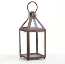 antique brass candle lantern for sale