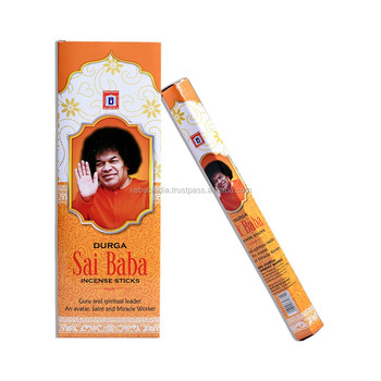 Indian Charcoal Incense Sticks Agarbatti Sai Baba