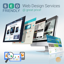 SEO friendly web design services @ great price!