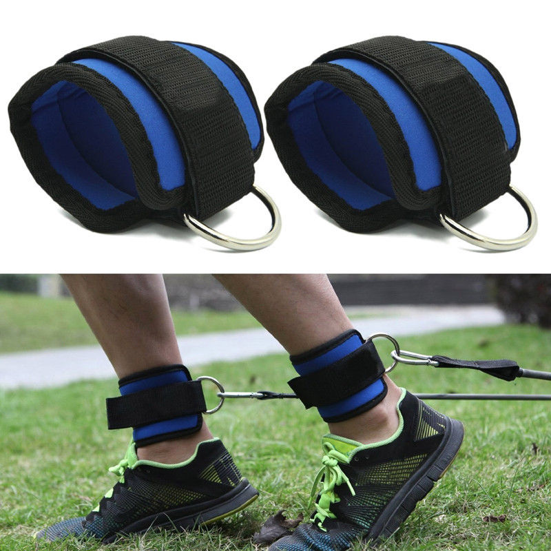 Gym Fitness Adjustable Sports Ankle Straps