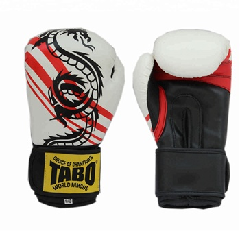 Design your own boxing glove professional pu leather boxing glove