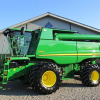 Brand New and Fairly Used John Deer combine harvester