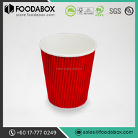 Logo custom printed disposable hot coffee paper cups malaysia