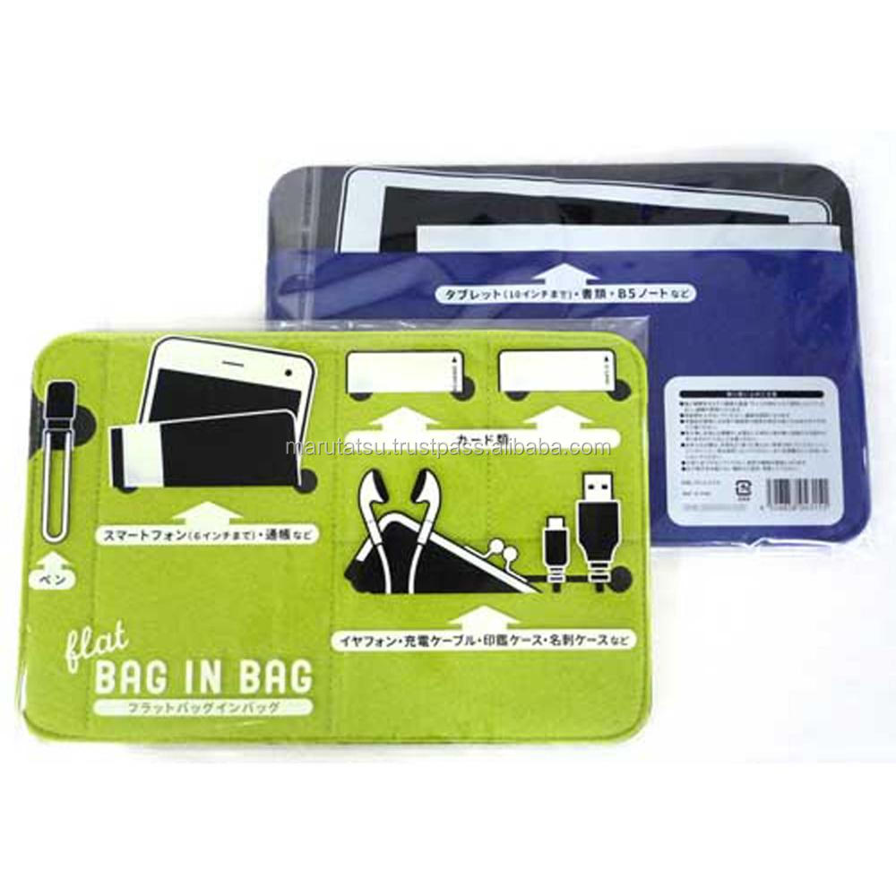 Fashionable and Easy to use aluminum storage case Flat bag in bag at reasonable prices , small lot order available