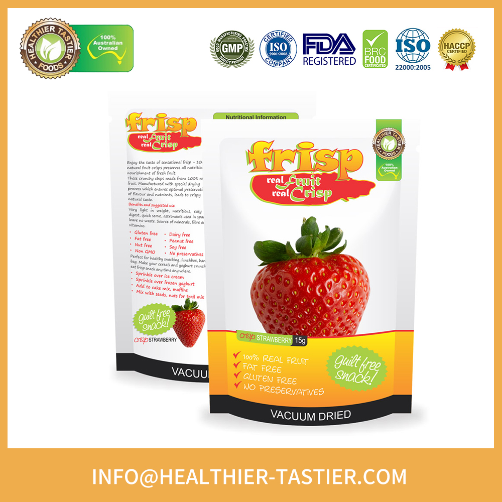 Crispy Natural Fruit Organic Strawberry Dried Fruit with High Quality