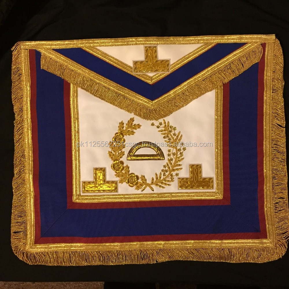 Mark Grand Rank Dress Inspector of Works Apron