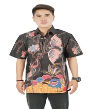 New Pattern Printed Batik Shirts Indonesia 100% Cotton