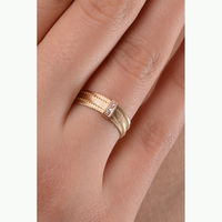 Jora 14K Gold and Diamond Ring