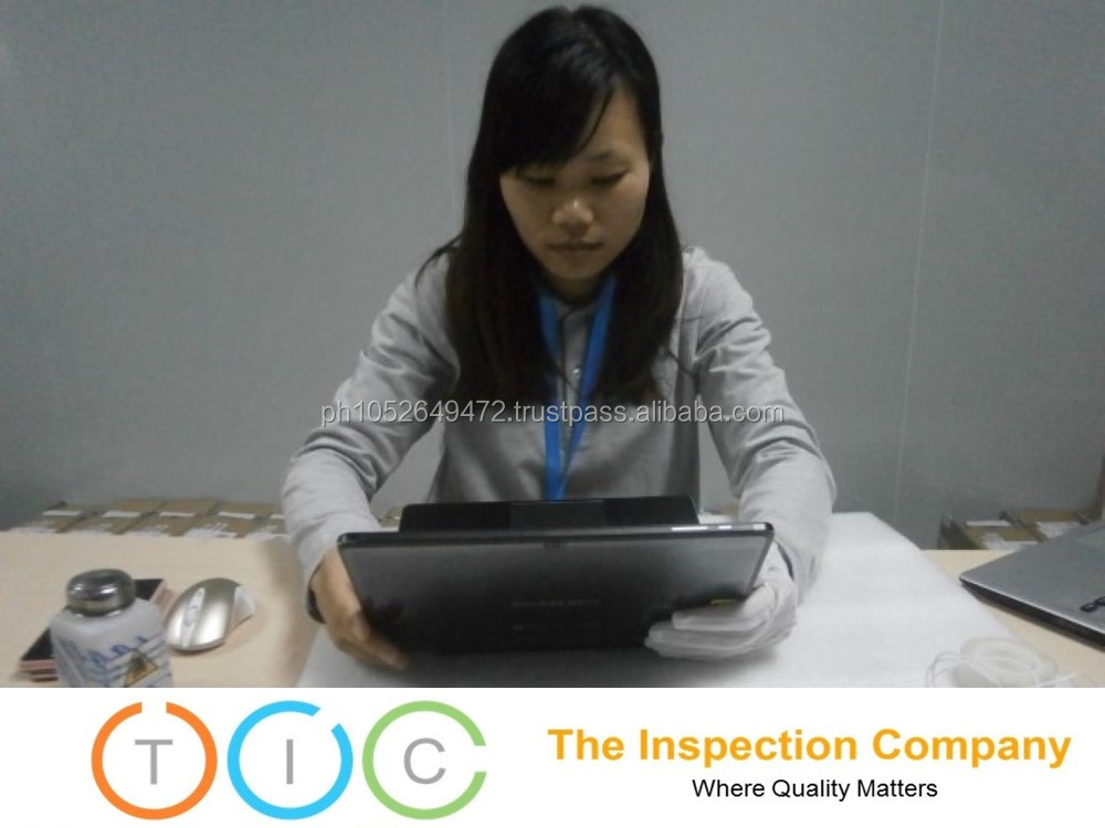 Laptop Third Party Inspection in China / Quality Control Services