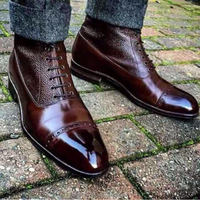 African Style man dress leather boot for man best selling Made in Turkey
