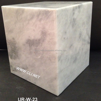 Cheap White Marble Funeral Cremation Urns for ashes