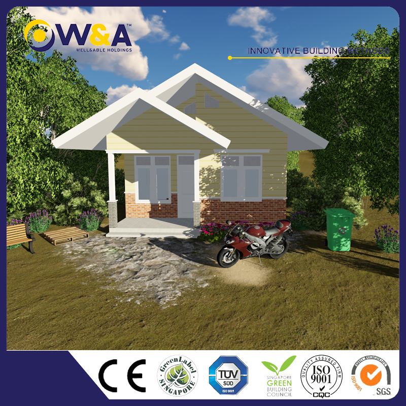 (WAS1007-40D)China Prefabricated Homes Prefab Hotel and Villa Modular House