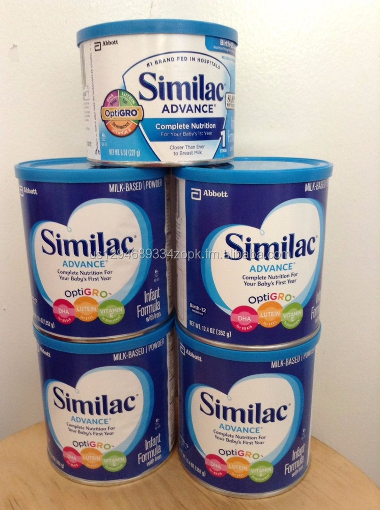 SIMILAC ADVANCE INFANT FORMULA 12.4 OZ OPTIGRO BRAND NEW