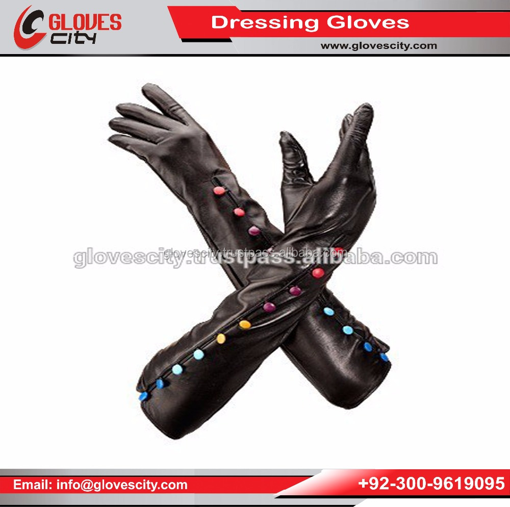 Bridal Shiny Stretch Satin Dress Gloves,Dress Gloves