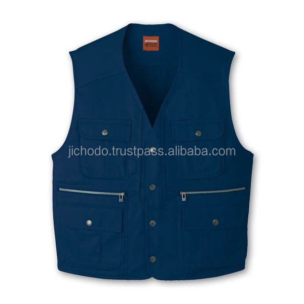 100% cotton twill fabric / mens work vest at appealing prices. Made by Japan