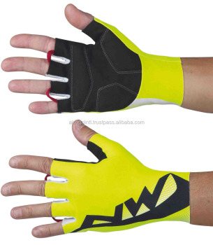 Latest Design Non-Slip Breathable Sports Wear Short Finger Cycling Gloves