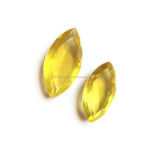 Lemon Topaz Marquise Cut Gemstone Manufacture & Supply Wholesale Loose Stone Jewelry