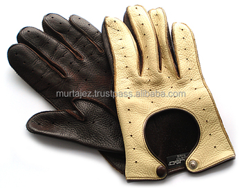 handseam goat nappa leather gloves mens
