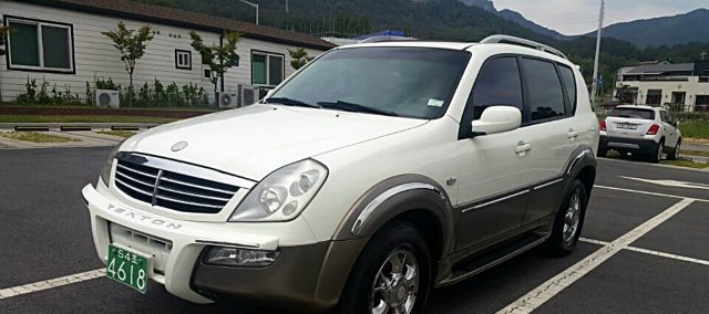 2004 SSANGYONG REXTON 4WD RX5 KOREAN USED CAR (17060028)