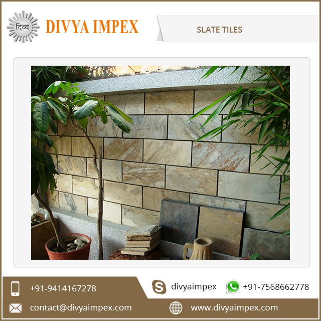 Outdoor Decorative Natural Roof Slate Tile