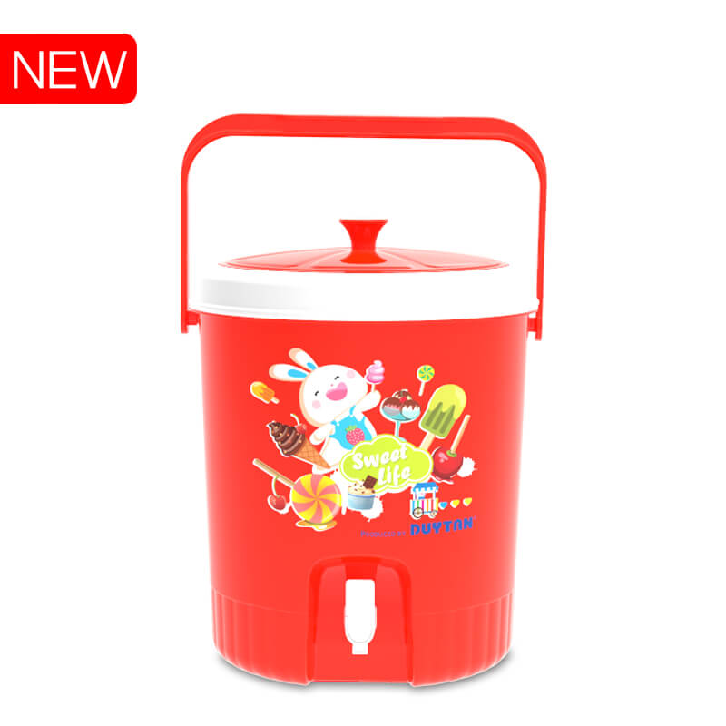 Outdoor camping Portable Metal and Plastic Ice Box Cooler DUY TAN PLASTICS VIETNAM