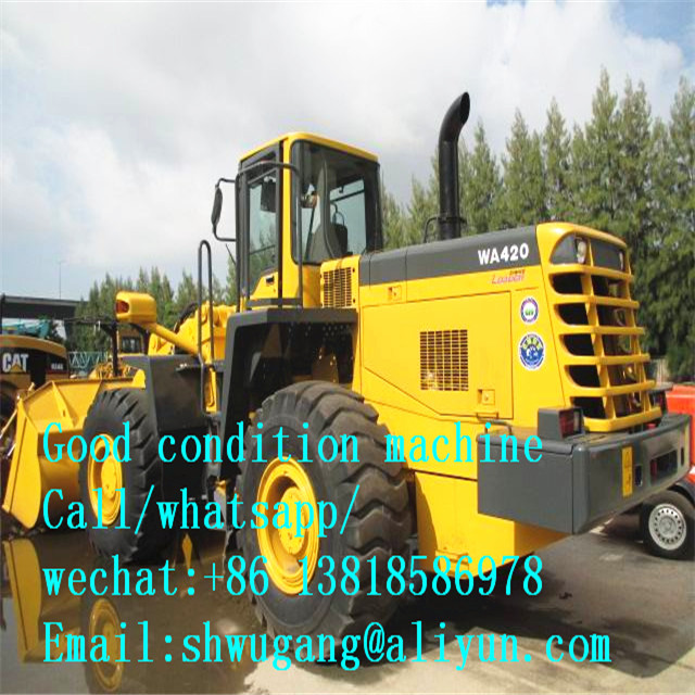 Used Komatsu WA420-3 Wheel Loader for Sale,Used Japan Komatsu WA420 Wheel Loader/ second hand Komatsu WA420-3 Loader cheap price