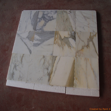 Italian Carrara Calacatta Statuario polished marble tiles