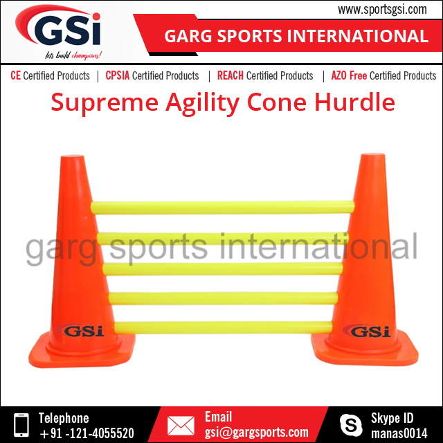 Supreme Agility Cone Hurdle/Speed Training Hurdle and Ladder