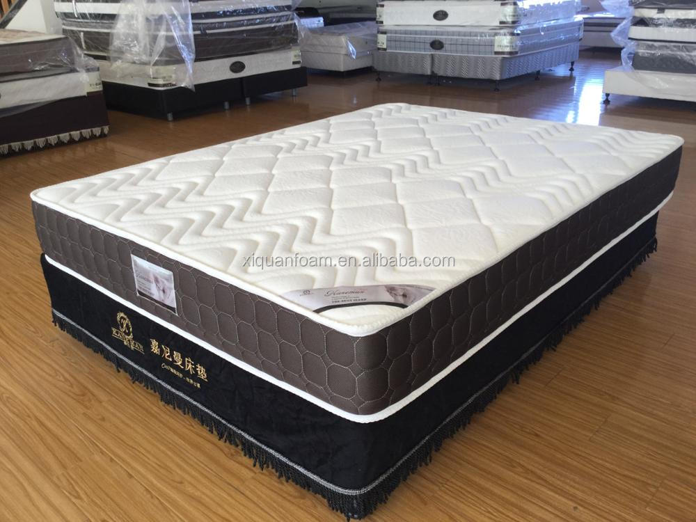 8inch rollable queen pocket spring mattress in a box
