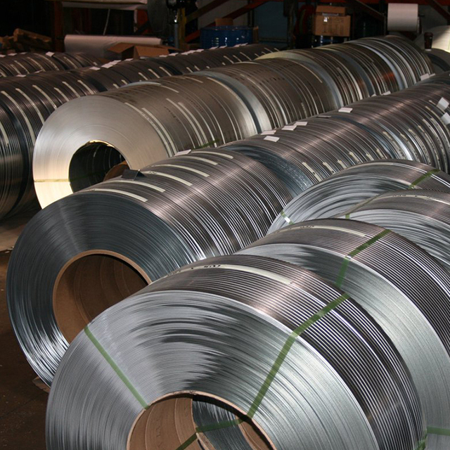 All Kinds Of Electro Galvanized Steel Slit Coils DC01 ZE25/25