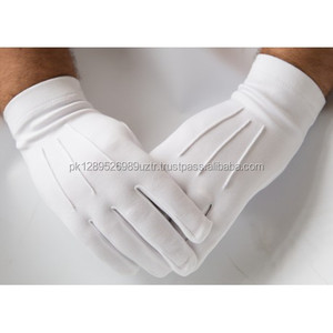 Very High Quality Cotton Gloves White Gloves Cotton Work Gloves
