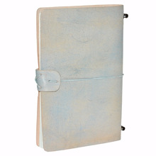 wholesale handmade paper a5 customize refillable leather diary notebook journal
