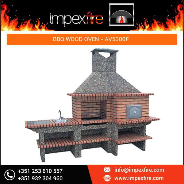 Outdoor Commercial Brick Pizza Oven