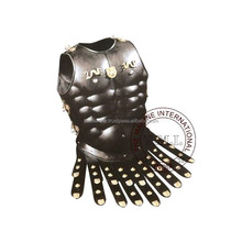 Black Antique Medieval Greek Muscle Armor Cuirass ~ Adult Size & Wearable